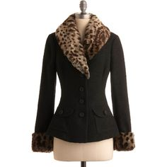 Betsey Johnson But Darling Jacket ($104) ❤ liked on Polyvore