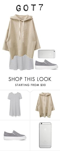 """Lazy day in with got7"" by got7outfits ❤ liked on Polyvore featuring MANGO and Native Union"