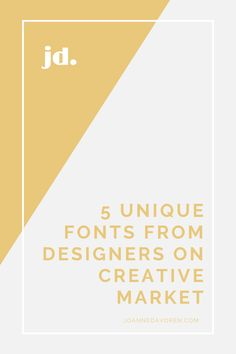 Today I'm sharing five beautiful and unique fonts from designers on Creative Market. Creative Market is an absolute goldmine for fantastic fonts, graphics and stock imagery. If you have a font that you wish to upload to Squarespace, check out my other post for a tutorial. Stock Imagery, Beautiful Fonts, Online Business, Web Design, Designers, Graphics, Marketing, Unique, Check