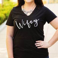 Dress them up or down, these tees are the perfect accent to any outfit! With fun & sassy statements & multiple color options, everyone is sure to find something they will love! 60/40 Cotton Poly Blend Allergic to mornings Blessed Wifey All I need is coffee & naptimeFaith Hope LoveFeed me & tell me I'm PrettyBless this Hot MessI work out just kidding I take napAll I need today is a little bit of coffee & whole lot of JesuPray Coffee RepeatPretty Freakin Awesome Rather...