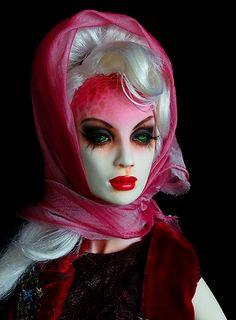 DC sculpt from 'The Bastards' Moss Pretty Dolls, Beautiful Dolls, Dream Doll, Living Dolls, Ooak Dolls, Various Artists, Vintage Barbie, Steampunk Fashion, Doll Toys