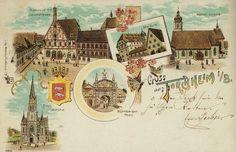 Forchheim Postkarte