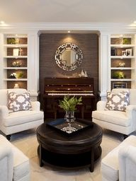 Living Room design ideas - traditional - living room - san diego - by Robeson Design Formal Living Rooms, Home Living Room, Living Room Designs, Living Room Furniture, Living Room Decor, Living Spaces, Small Living, Cozy Living, Fireplace Furniture