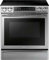 5.8 Cu. Ft. Capacity/ Induction Cooking/ Virtual Flame/ WiFi Connectivity/ Dual Convection/ Glass-Touch Controls/ Wide View Window/ Warming Drawer/ Hidden Bake Element/ Sabbath Mode/ Self   Steam Clean/ Hot Surface Indicator Lights/ Auto Oven Light/ Sabbath Mode/ Auto Shut-Off Option/ Child Safety Lock/ Stainless Steel Finish