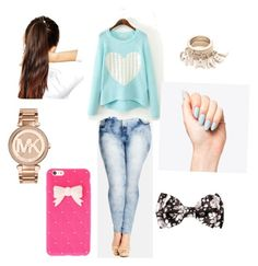 """Middle school outfits"" by rcl-chabria on Polyvore featuring City Chic, Michael Kors, ASOS and plus size clothing"