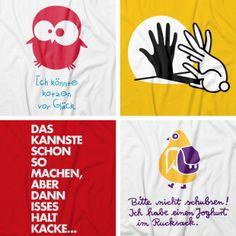 Fakt ist: Lustige T-Shirts und Accessoires mit witzigen Designs sorgen garantiert für gute Laune. Sie zeichnen nicht nur den Träger als heiteren Zeitgenossen aus, sondern verraten auch seinen ganz persönlichen Sinn für Humor.  Jetzt witziges T-Shirt gestalten und bedrucken auf: http://www.t-shirt-mit-druck.de/lustiges-t-shirt-gestalten.htm