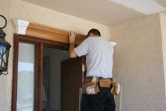 Improve your front door curb appeal with mouldings