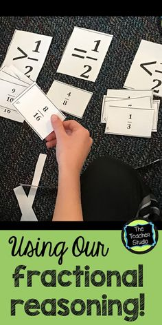So often we just to computation with fractions before really digging in to the concepts.  Check out this post with some ideas about how to get students REASONING about fractions to build deep understanding!