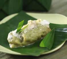 Kue Jongkong. Weird name but it's a delicious Traditional Indonesian Cake