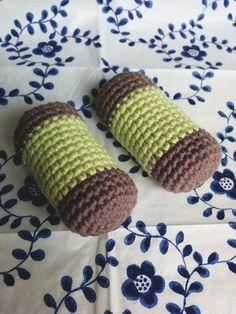 Litevirkning - Virkade dammsugare, mönster på svenska (crochet cookie) Crochet Food, Diy Crochet, Play Food, Some Ideas, Chrochet, Diy Tutorial, Diy And Crafts, Projects To Try, Crochet Patterns