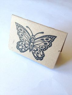 Butterfly Travel Notebook by HorseAndHare on Etsy, $8.00