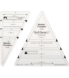 Free Printable Triangle Templates For Art Projects