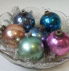 These colors on Christmas trees would be really cool.- festive but kind of birthday too