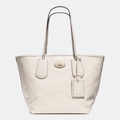 The Coach Taxi Tote 28 In Leather from Coach