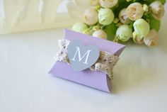 Personalized Wedding Favor Box by MrsMyLaurie on Etsy