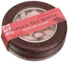 SEN CHA Green Tea Mints, Morning Lychee, 1-Ounce Tins (Pack of 9): Amazon.com: Grocery & Gourmet Food