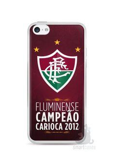 Capa Iphone 5C Time Fluminense #2 - SmartCases - Acessórios para celulares e tablets :)