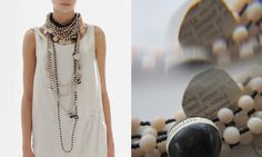 Maria Calderara | Bijoux Women's Necklaces, Statement Necklaces, Bracelets, My Outfit, Gemstone Jewelry, Fashion Accessories, Jewelry Design, Jewels, My Style