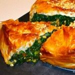 A Slice of Kale and Butternut Squash Phyllo Pie