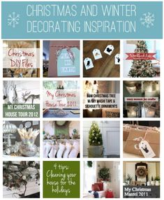 Christmas Decorating Gallery from The Inspired Room {lots of great ideas!}