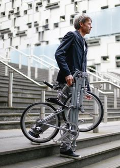 While there have been a number of folding bikes on the market, not many of them look like they were designed with riding in mind. Enter the Whippet Bicycle.