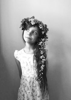 Flower crown and trail | Kirsten Rickert
