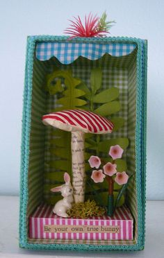 Be Your Own Bunny - Easter Diorama