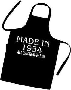 60th-BIRTHDAY-Cooks-Apron-MADE-IN-1954-All-Original-Parts-BIRTHDAY-Gift-Idea