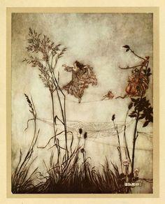 Absyntowy Psot: Jesienny Arthur Rackham (artysta tygodnia)