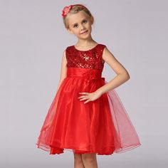 2017 Fashion Summer New Girls Dress Princess Kids Girls Clothes Red Flowers Clothing Girl Blue Prom Dress for Party Wear Vestido