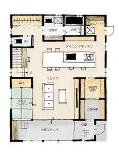 Sims 4 House Plans, Sims House, Small House Plans, House Floor Plans, Apartment Layout, Apartment Plans, Japan Room, Minimal House Design, Japanese Apartment