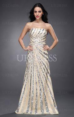 Buy UK Strapless A-line Chiffon Floor-length Dress, Ladies dresses and flower girls dresses, Discount Dresses for sale - 4p247 - skup120917031