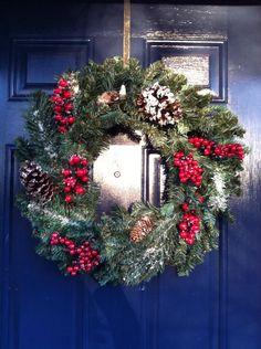 Christmas wreath/ winter wreath