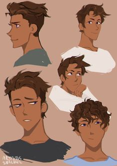 """honestlyprettychill honestlyprettychill,Voltron artistic-snachel: """" hair doodles for julance? Psst Commissions are open by the way """" bEAUTIFULLL Design Art Reference Poses, Drawing Reference, Hair Reference, Drawing Tips, Art Sketches, Art Drawings, Drawing Faces, Voltron Klance, Form Voltron"""