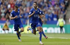 Jamie Vardy, Riyad Mahrez and Shinji Okazaki. How Leicester City became the Premier League's top bargain hunters Leicester City Football, Leicester City Fc, Shinji Okazaki, Jamie Vardy, Premier League Table, Swansea, Sunderland, Manchester United, My Boys