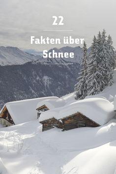 Schnee fasziniert und überrascht uns Menschen seit Jahrhunderten. Deshalb haben wir 22 verblüffende Fakten über Schnee für Dich gesammelt »
