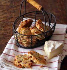 Sablés au camembert et au chorizo / Shortbread biscuit camembert chorizos sausage