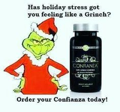 Don't let the Holidaysstress you out this year!! It Works Global #Confianza is amazing!!This all-natural stress relief supplement will also help with focus fight fatigue and provides energy!!   TODAY ONLY Buy 1 Get 1 FREE!!!Ask me how you can get 2 bottles for only $25!! - http://ift.tt/1HQJd81