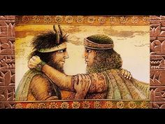 """Telling the tale of the adventures of King Gilgamesh and his trustworthy friend Enkidu. """"The epic of Gilgamesh, the oldest written story, known to exist. King Gilgamesh, Gilgamesh And Enkidu, Epic Of Gilgamesh, Cedar Forest, Great Poems, Ancient Mesopotamia, Sumerian, Story Of The World, Ancient Art"""