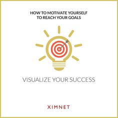 Method 5: Visualize Your Success  According to Dr. Frank Niles, visualization is a simple but useful motivational technique because when you form a picture of succeeding in your mind, you begin to see the possibility of reaching your goal. As crazy as it sounds, you will reach your goals one day.  No matter how difficult your journey is, keep shining and do not forget to believe in yourself.  #motivation #goals #dreams #success #positive #attitude #win #creative #DreamBIG #NoFear