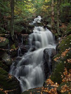 Abby Pond Waterfall, Vermont, USA