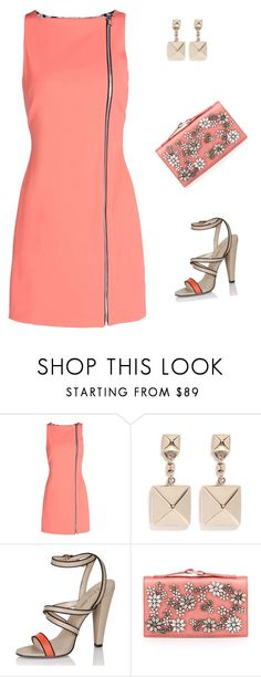 """""""#fashion #style #stylish #love #me #cute #photooftheday #nails #hair #beauty #beautiful #instagood #pretty #swag #pink #girl #girls #eyes #design #model #dress #shoes #heels #styles #outfit #purse #jewlery #shopping #glam#like4like"""" by n2288851 ❤ liked on Polyvore featuring Opening Ceremony, Valentino and Paper Dolls"""