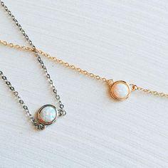 Opal Lili Choker Necklace Chokers - Stargaze Jewelry