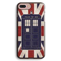 British Fandom Tardis Union Jack Apple iPhone 7 Plus Case Cover ISVB428