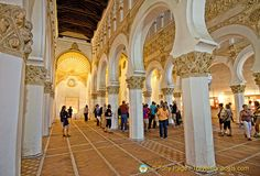 Santa Maria la Blanca in Toledo is Europe's oldest synagogue building and one of the most beautiful.