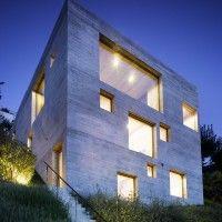 New Concrete House by Wespi de Meuron - via Contemporist