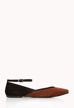 Virtually the same thing as the VS flats I just pinned, but $23 at F21