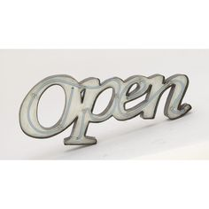 Unique Metal Led Open Sign