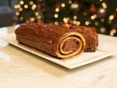 Tronco de Navidad de Chocolate | Delicioso, original e increíble tronco de navidad de chocolate, prepara esta receta que a todos tus invitados les encantará.