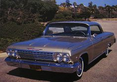 1962 Chevrolet Impala S/S in Autumn Gold Chevrolet Bel Air, Chevrolet Chevelle, American Auto, Chevy Impala, Toy Trucks, Old Toys, Muscle Cars, Vintage Cars, Cool Cars